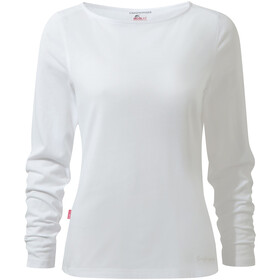 Craghoppers NosiLife Erin LS Top Women optic white